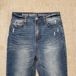 Hippie Laundry Super High Rise Distressed Jeans